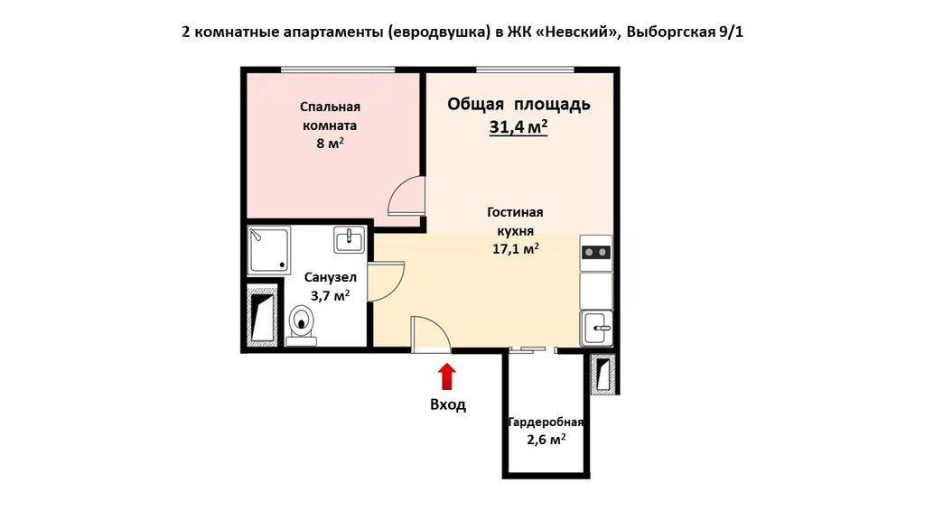 Продажа двухкомнатной квартиры Москва, метро Водный стадион, Выборгская улица 9/1, цена 12900000 рублей, 2021 год объявление №692762 на megabaz.ru