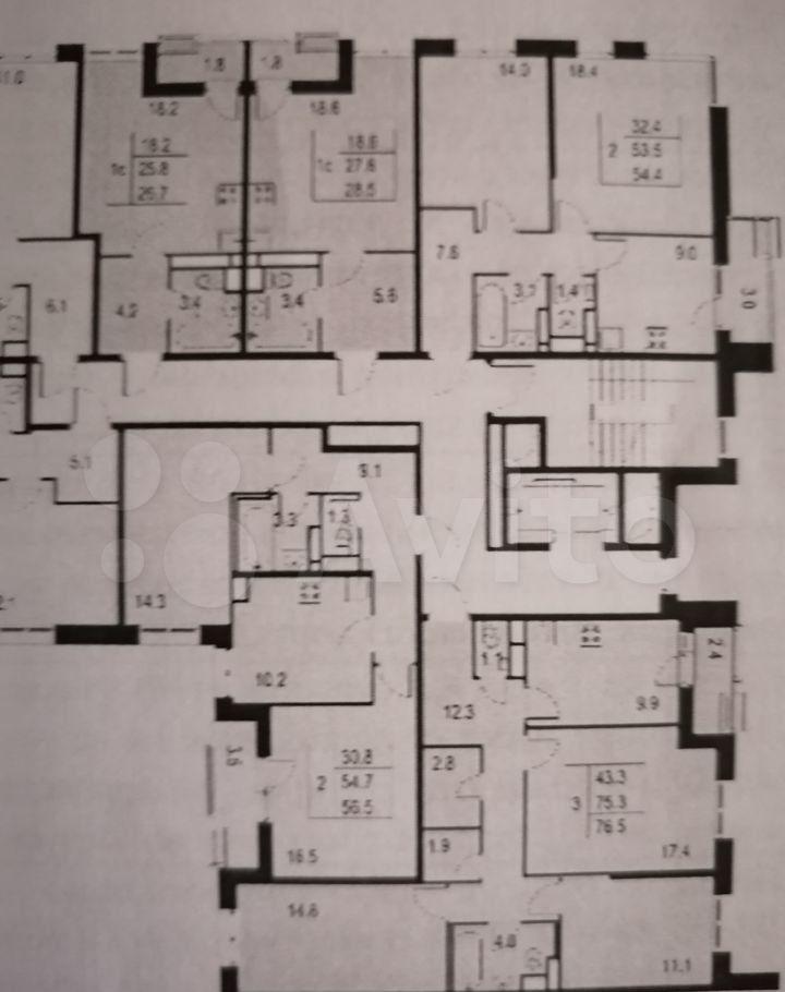 Продажа двухкомнатной квартиры деревня Борисовка, цена 5850000 рублей, 2021 год объявление №692713 на megabaz.ru