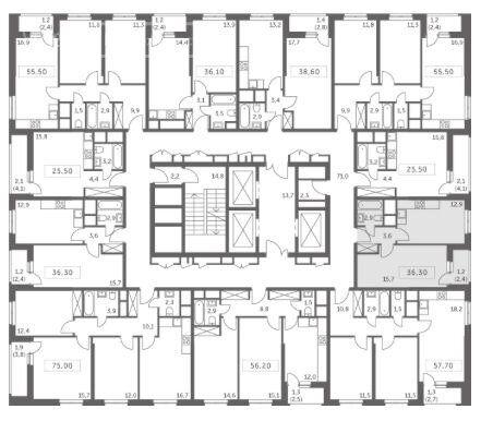 Продажа однокомнатной квартиры деревня Раздоры, метро Строгино, цена 8800000 рублей, 2021 год объявление №692569 на megabaz.ru
