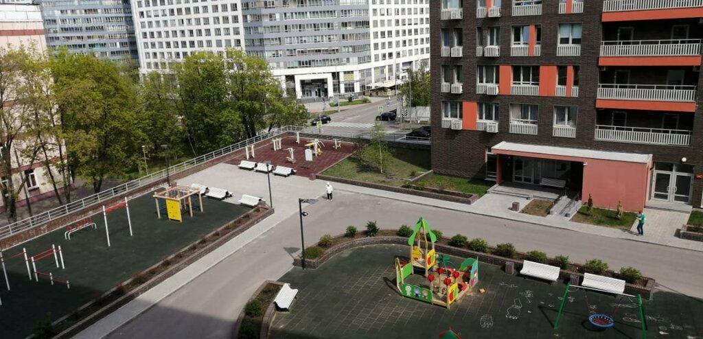 Продажа однокомнатной квартиры Москва, метро Нагатинская, 1-й Нагатинский проезд 14, цена 15500000 рублей, 2021 год объявление №693276 на megabaz.ru