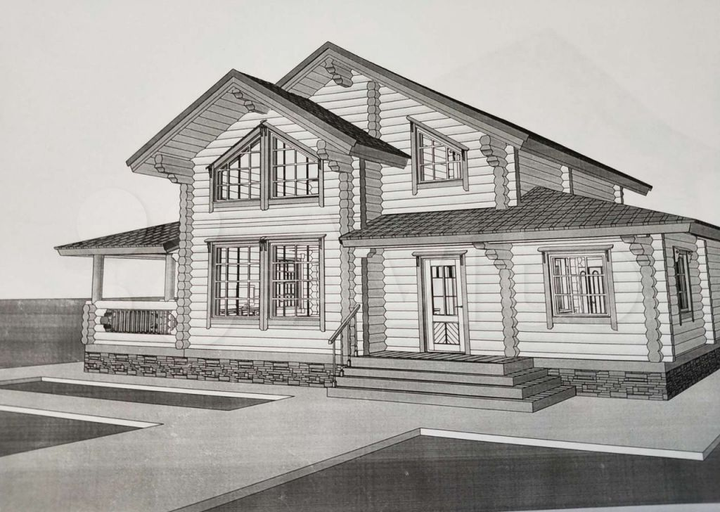 Продажа дома село Кривцы, Счастливая улица, цена 6200000 рублей, 2021 год объявление №653735 на megabaz.ru