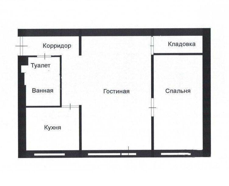 Продажа двухкомнатной квартиры деревня Старая Руза, улица Курорт Дорохово 14, цена 2700000 рублей, 2021 год объявление №693736 на megabaz.ru