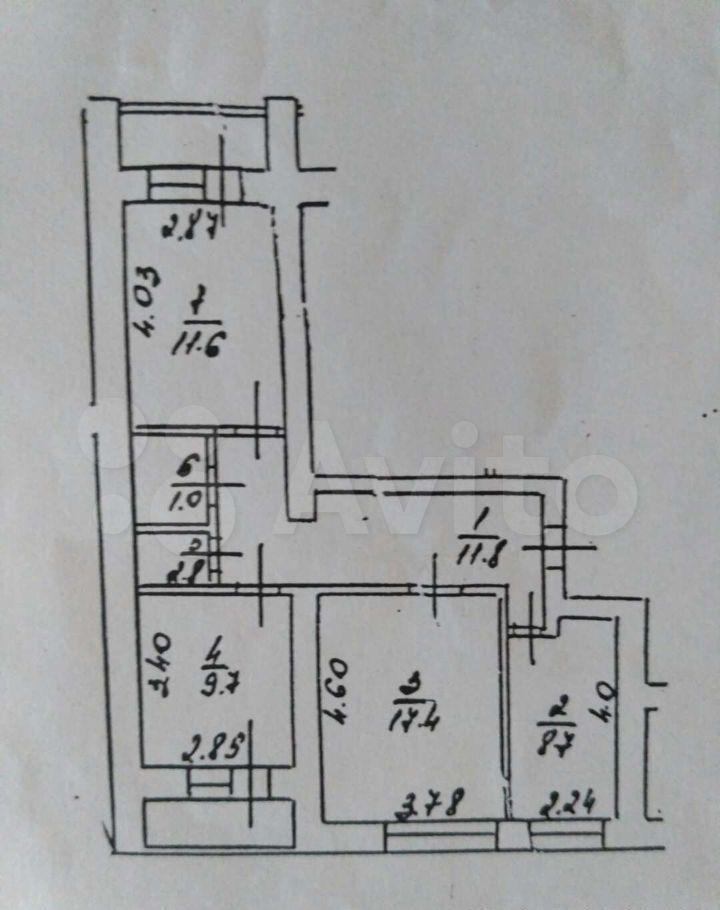 Продажа трёхкомнатной квартиры Луховицы, Пионерская улица 31, цена 3800000 рублей, 2021 год объявление №694314 на megabaz.ru