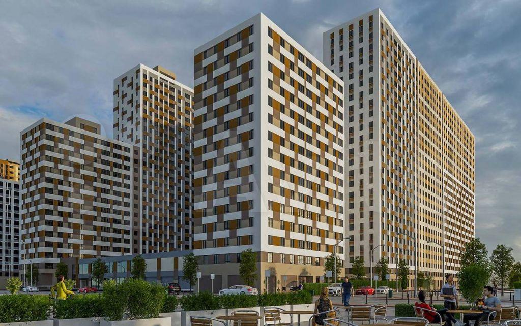Продажа студии рабочий поселок Новоивановское, бульвар Эйнштейна 1, цена 4790000 рублей, 2021 год объявление №694470 на megabaz.ru