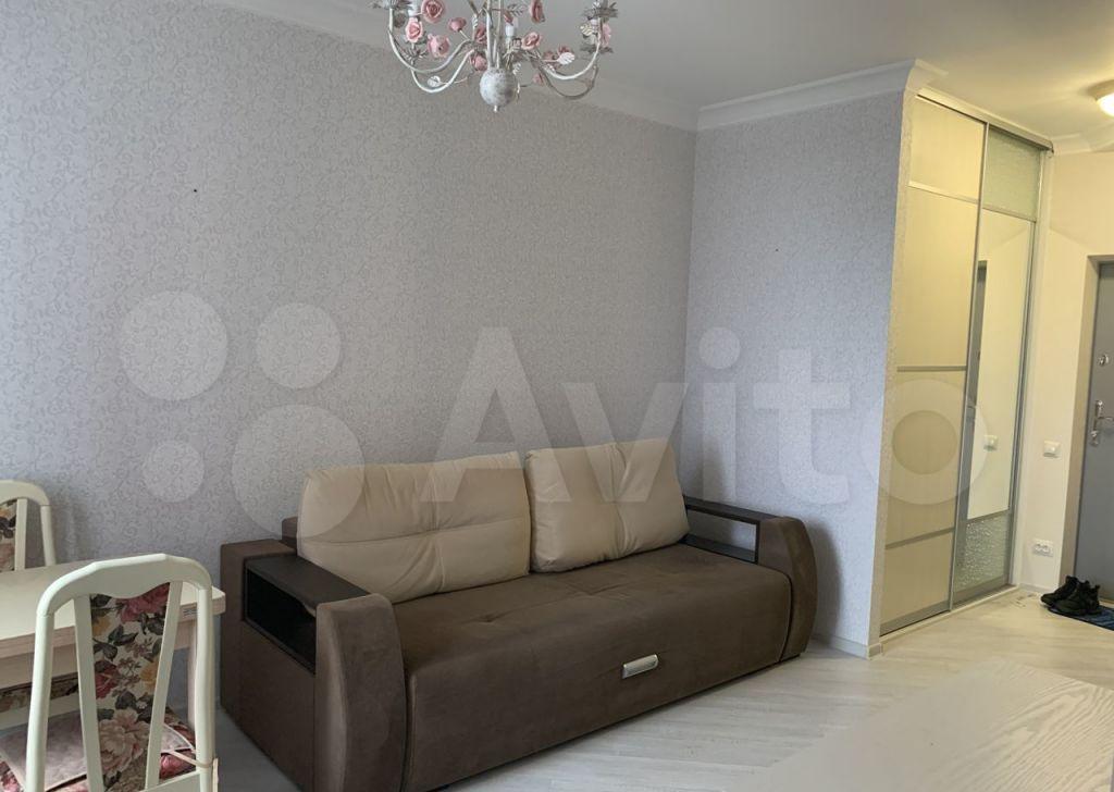 Аренда однокомнатной квартиры деревня Подолино, Солнечная улица 4, цена 27000 рублей, 2021 год объявление №1471762 на megabaz.ru
