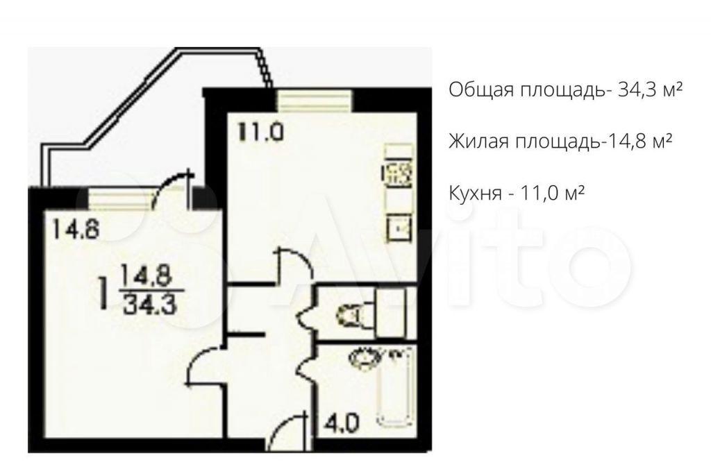Продажа однокомнатной квартиры Москва, метро Улица Старокачаловская, улица Грина 40к1, цена 9900000 рублей, 2021 год объявление №698793 на megabaz.ru