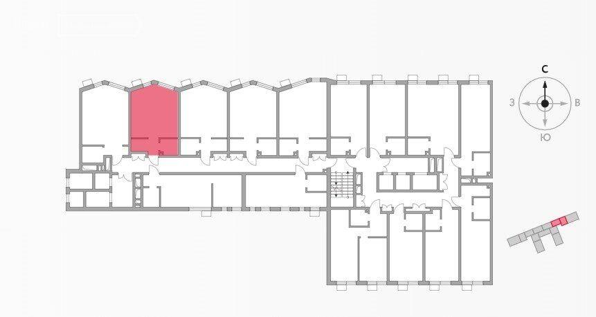 Продажа студии Москва, метро Волгоградский проспект, цена 4990650 рублей, 2021 год объявление №698606 на megabaz.ru