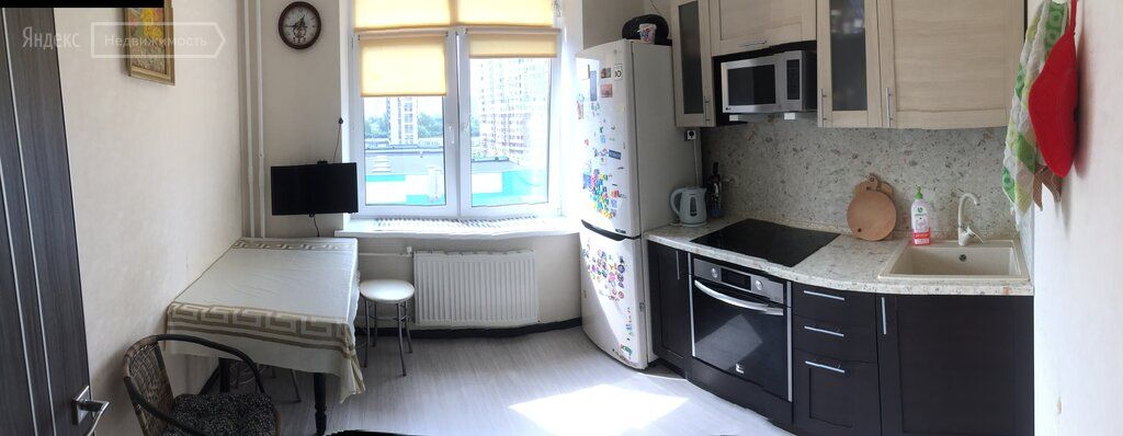 Продажа однокомнатной квартиры Химки, улица Германа Титова 2к1, цена 7100000 рублей, 2021 год объявление №699760 на megabaz.ru