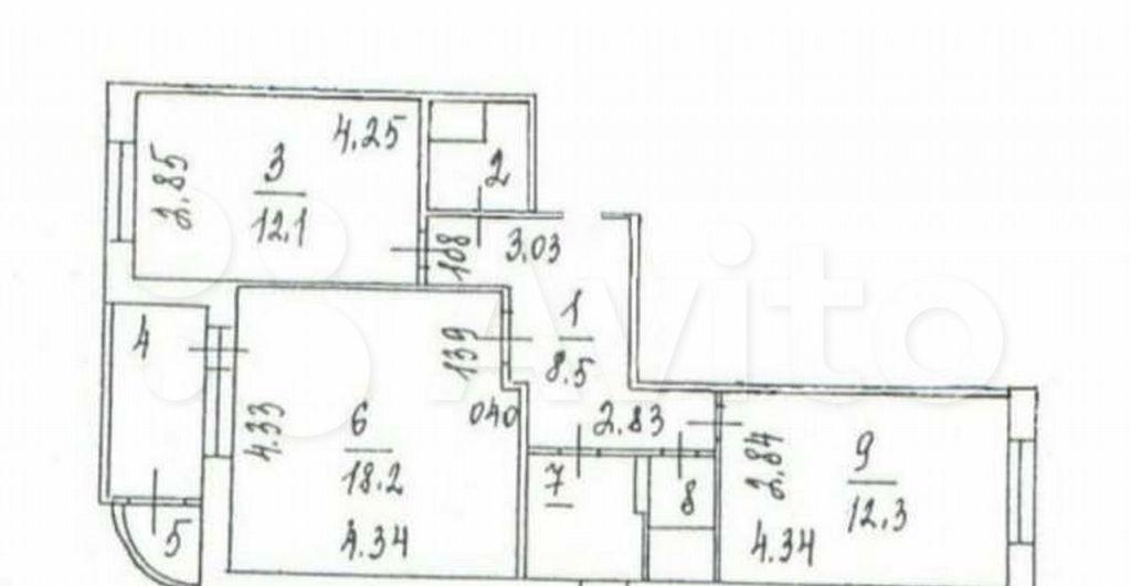 Продажа двухкомнатной квартиры поселок Развилка, метро Зябликово, цена 9900000 рублей, 2021 год объявление №699844 на megabaz.ru