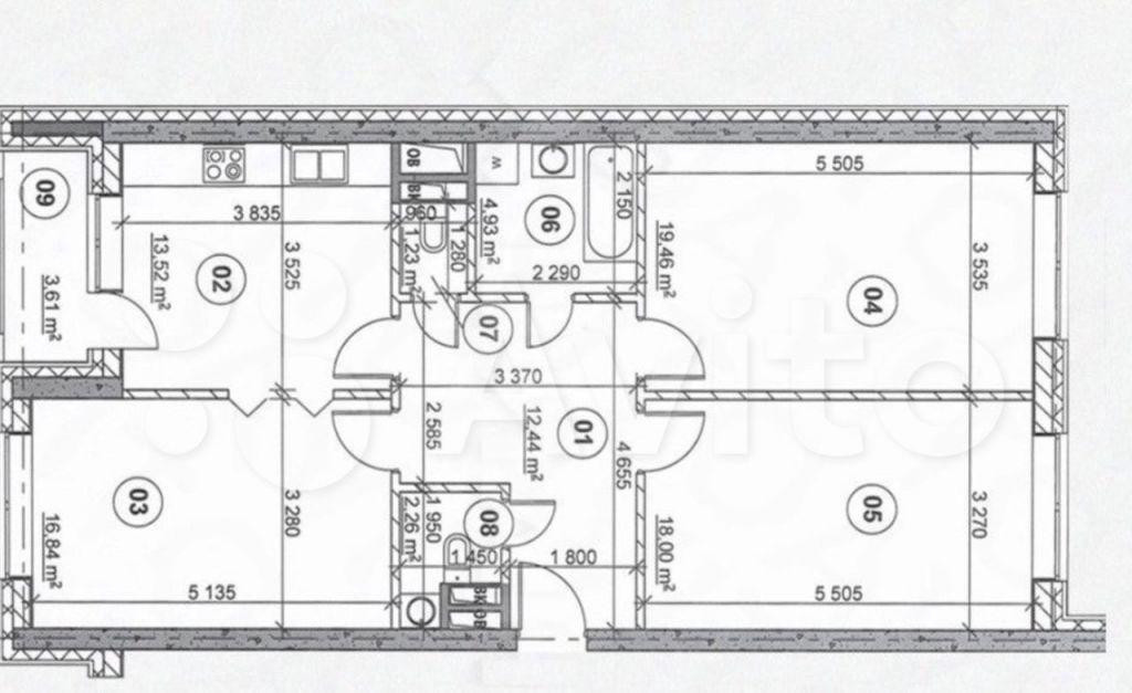 Продажа трёхкомнатной квартиры Москва, метро Шоссе Энтузиастов, проспект Будённого 51к4, цена 39900000 рублей, 2021 год объявление №700179 на megabaz.ru