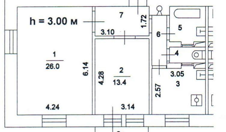 Продажа двухкомнатной квартиры Москва, метро Автозаводская, 1-й Кожуховский проезд 1/7, цена 12300000 рублей, 2021 год объявление №382913 на megabaz.ru