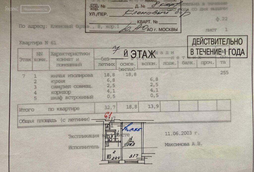 Продажа однокомнатной квартиры Москва, метро Коломенская, Кленовый бульвар 8к1, цена 9750000 рублей, 2021 год объявление №707927 на megabaz.ru