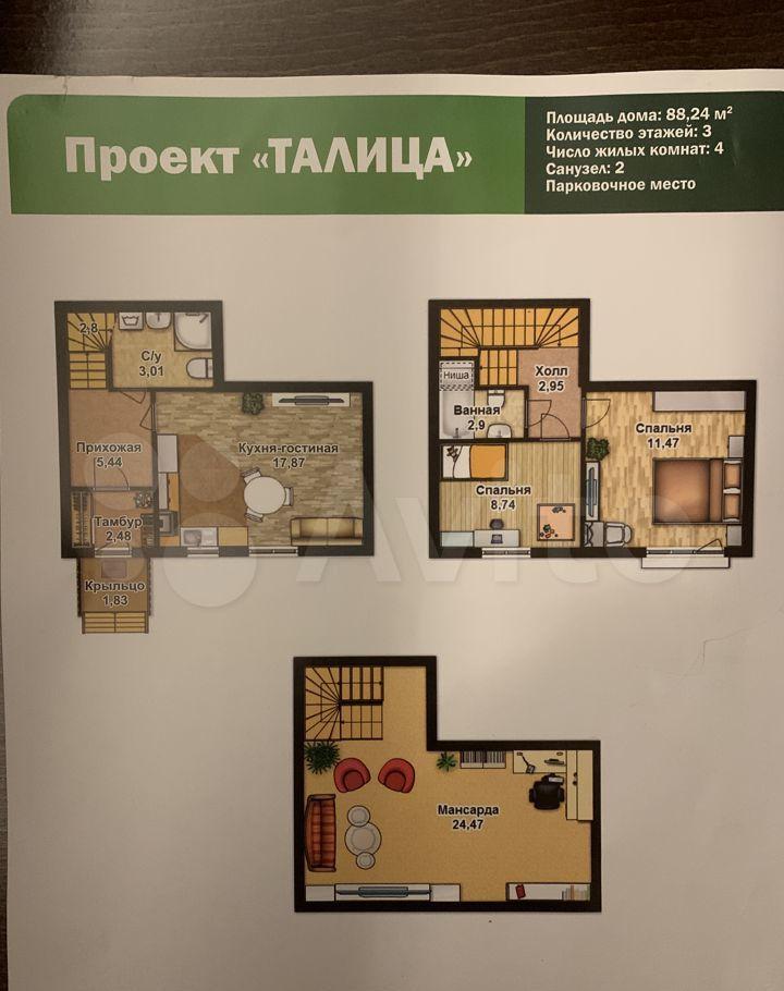 Продажа дома деревня Шолохово, улица Экодолье, цена 9500000 рублей, 2021 год объявление №703479 на megabaz.ru