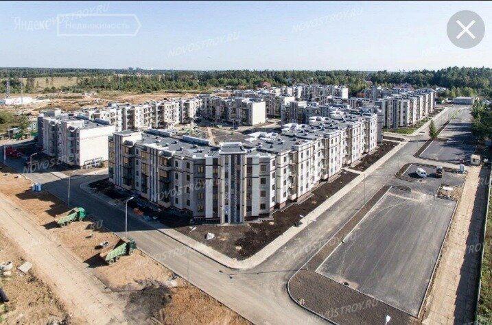 Продажа двухкомнатной квартиры деревня Митькино, Заречная улица 4, цена 7393940 рублей, 2021 год объявление №704393 на megabaz.ru