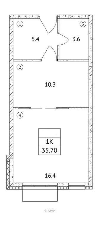 Продажа однокомнатной квартиры поселок Мещерино, метро Домодедовская, цена 4950000 рублей, 2021 год объявление №705120 на megabaz.ru