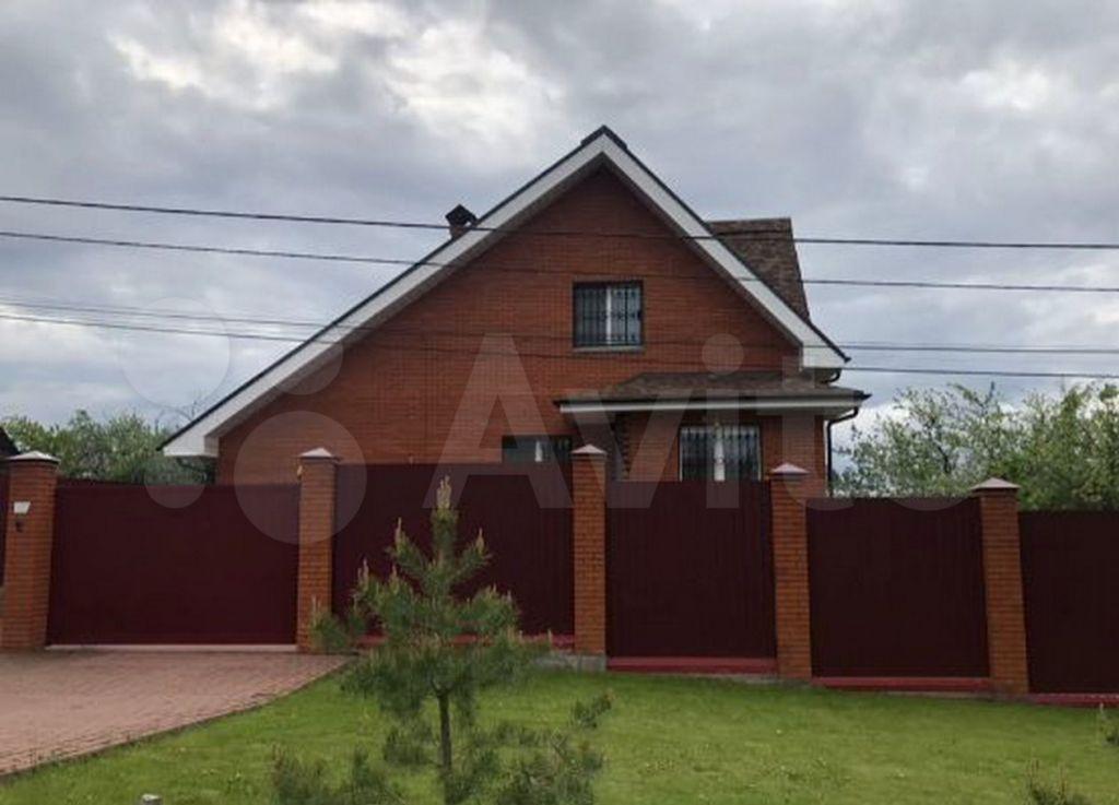 Продажа дома Кашира, улица Хитровка, цена 2130000 рублей, 2021 год объявление №706369 на megabaz.ru