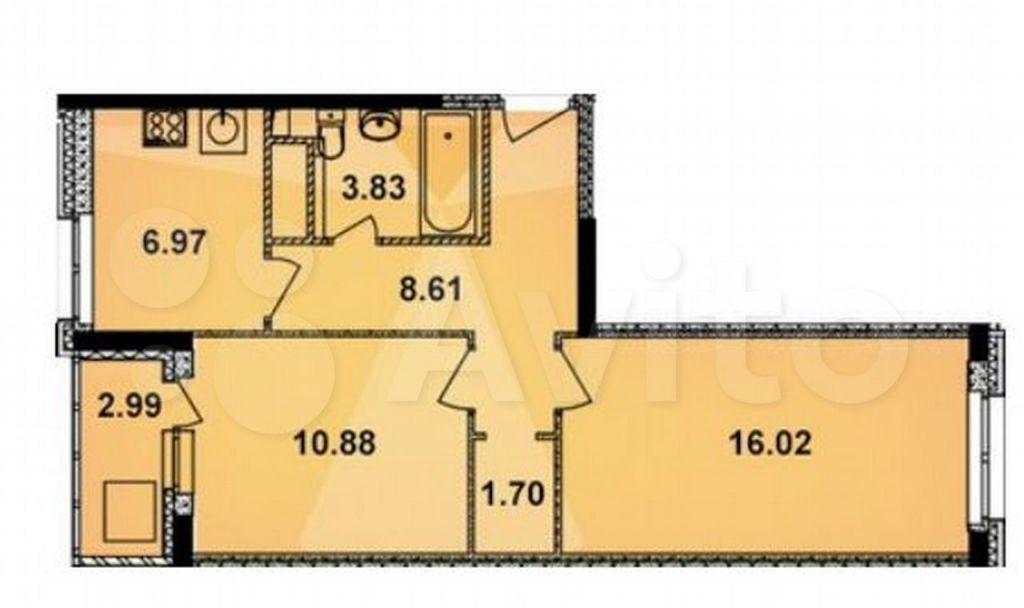Продажа двухкомнатной квартиры Старая Купавна, улица Кирова 21, цена 6100000 рублей, 2021 год объявление №706596 на megabaz.ru