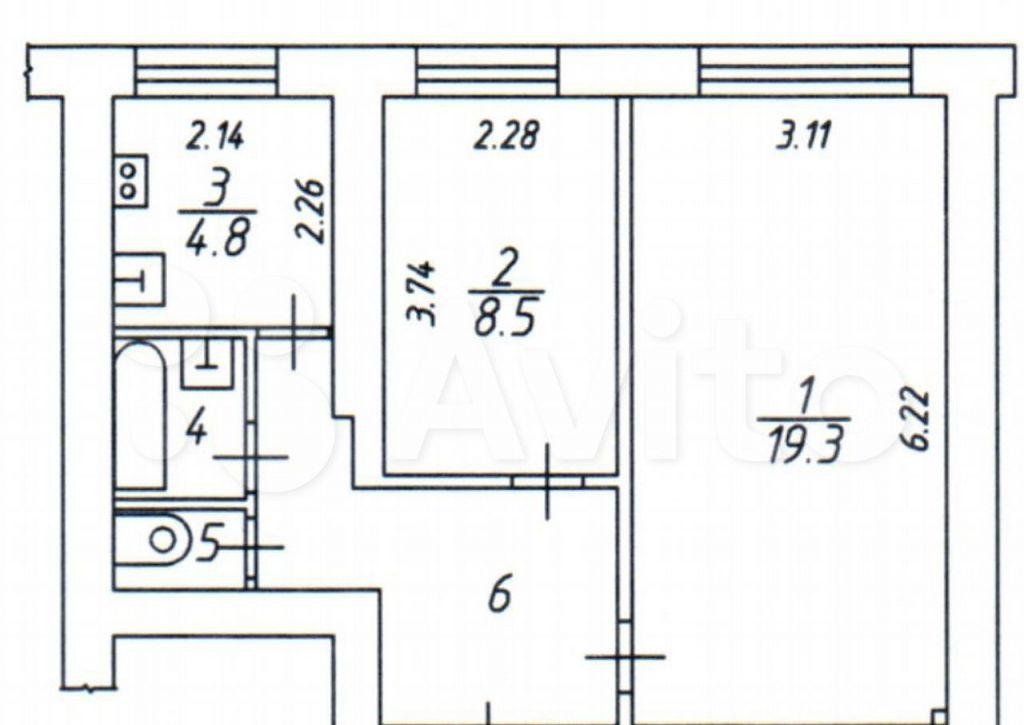 Аренда двухкомнатной квартиры Красногорск, метро Митино, Лесная улица 5, цена 43000 рублей, 2021 год объявление №1482605 на megabaz.ru