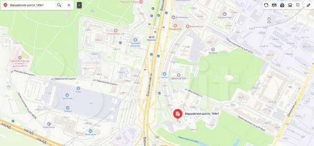 Продажа студии Москва, метро Аннино, Варшавское шоссе 149к1, цена 4400000 рублей, 2021 год объявление №576066 на megabaz.ru