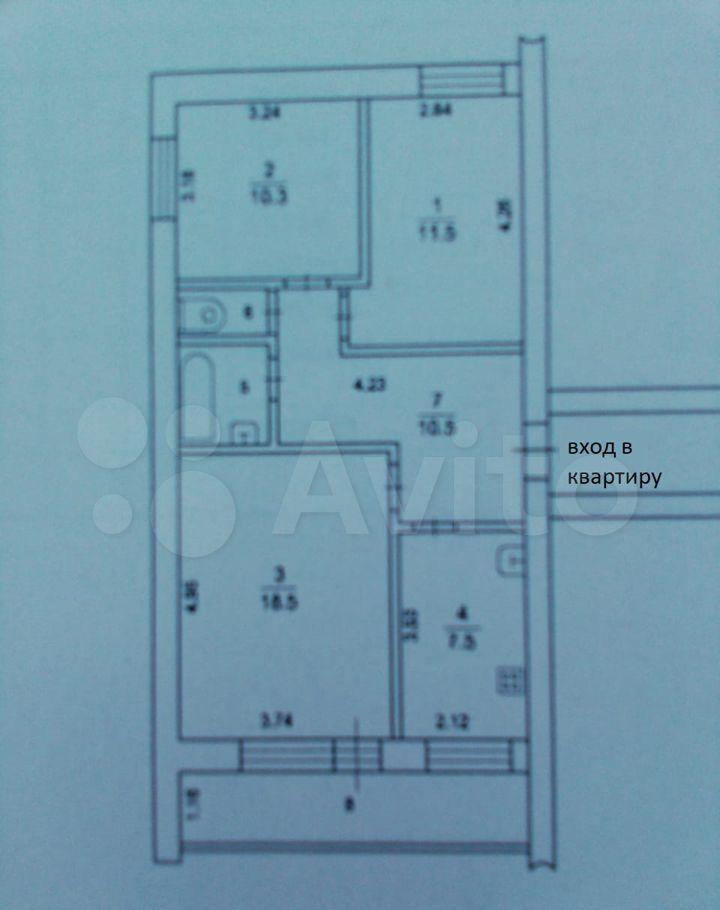 Продажа трёхкомнатной квартиры Ступино, Овражная улица 19/22, цена 6200000 рублей, 2021 год объявление №707058 на megabaz.ru
