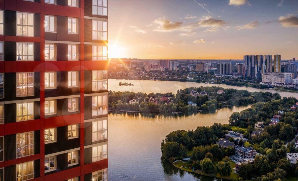 Продажа однокомнатной квартиры Одинцово, метро Строгино, цена 6100000 рублей, 2021 год объявление №707191 на megabaz.ru