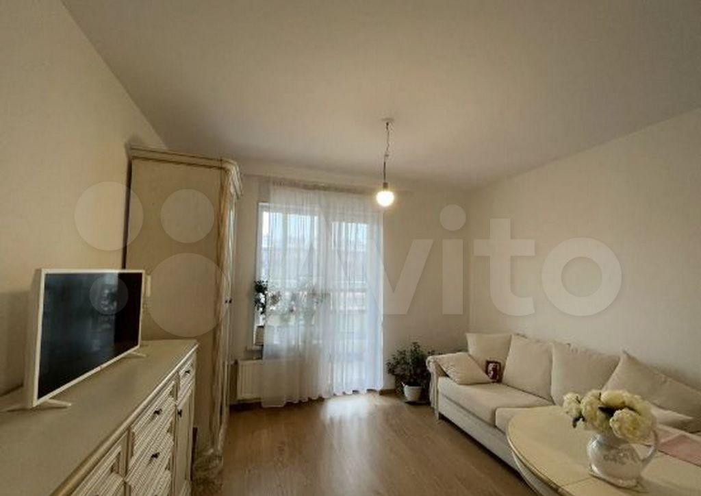Продажа однокомнатной квартиры Кашира, Садовая улица 37, цена 865000 рублей, 2021 год объявление №708415 на megabaz.ru