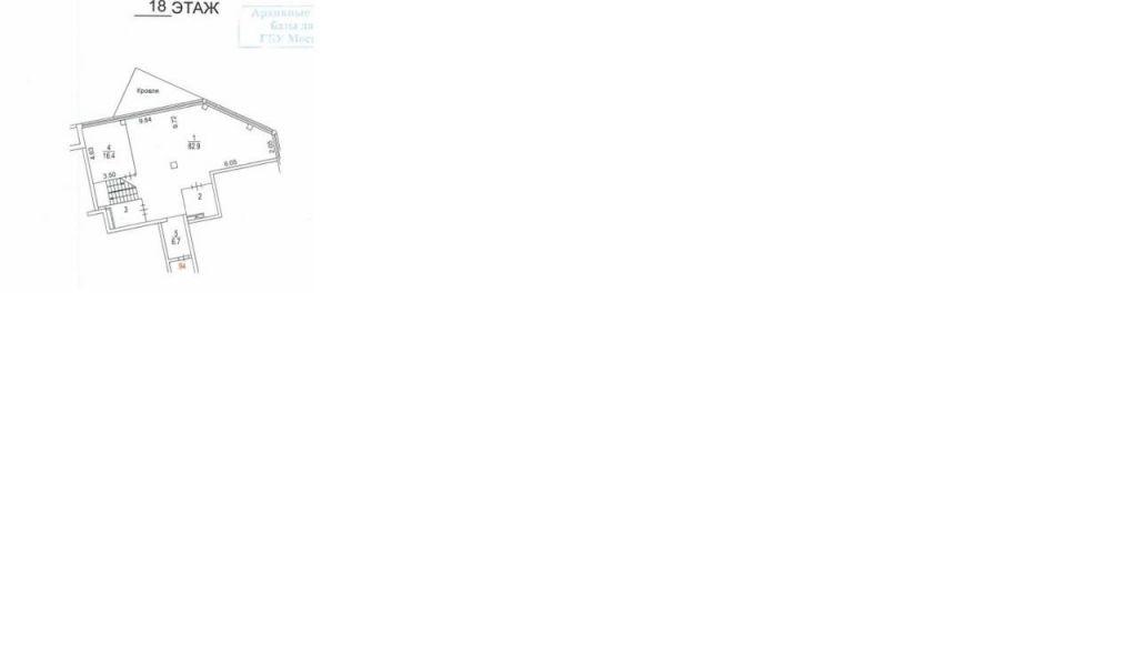 Продажа студии Москва, метро Шаболовская, улица Шаболовка 10, цена 93807017 рублей, 2020 год объявление №386720 на megabaz.ru