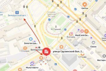Продажа студии Москва, метро Белорусская, улица Грузинский Вал 28/45, цена 3940000 рублей, 2020 год объявление №420719 на megabaz.ru