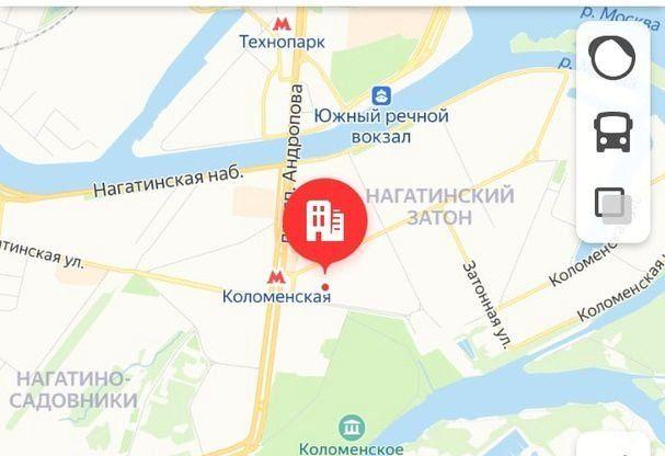 Продажа однокомнатной квартиры Москва, метро Коломенская, улица Новинки 7, цена 6460000 рублей, 2020 год объявление №401247 на megabaz.ru