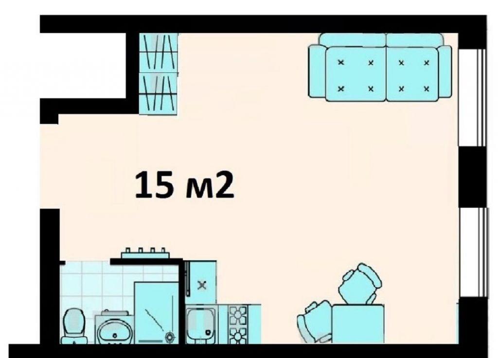 Продажа студии Москва, метро Савеловская, Вадковский переулок 12, цена 4490000 рублей, 2021 год объявление №480495 на megabaz.ru