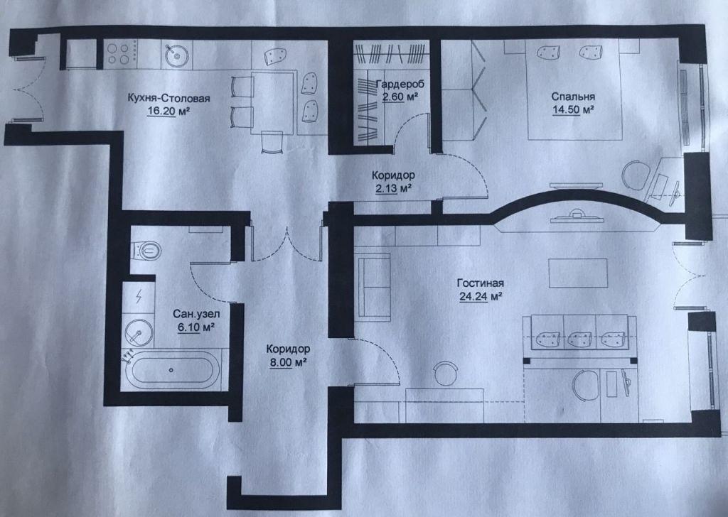 Продажа двухкомнатной квартиры Москва, метро Парк Победы, улица Пырьева 4к1, цена 20500000 рублей, 2021 год объявление №391099 на megabaz.ru