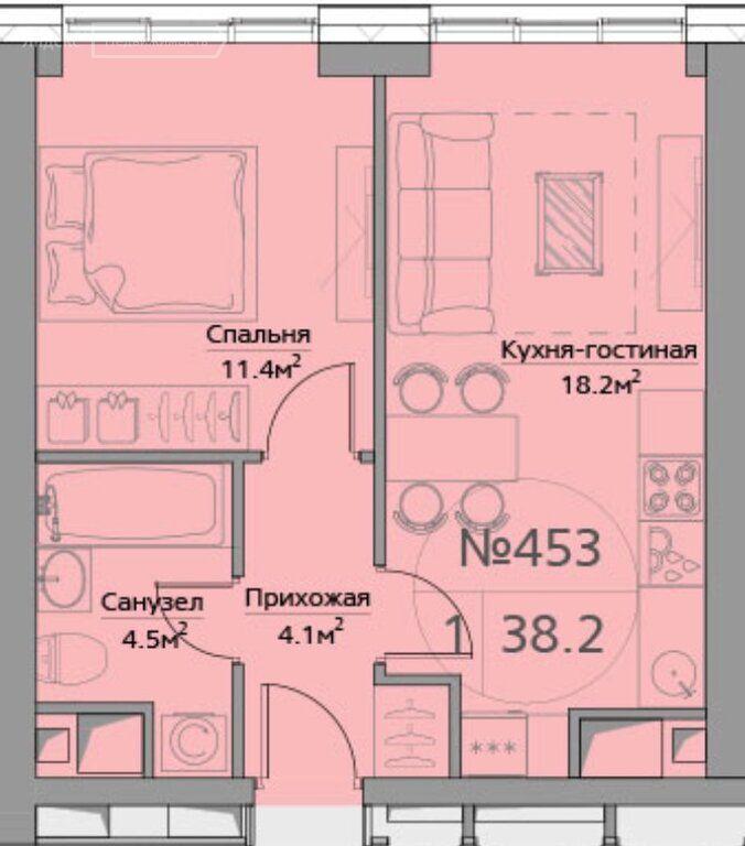 Продажа однокомнатной квартиры Москва, метро Фили, Багратионовский проезд 5к1, цена 12500000 рублей, 2021 год объявление №411549 на megabaz.ru