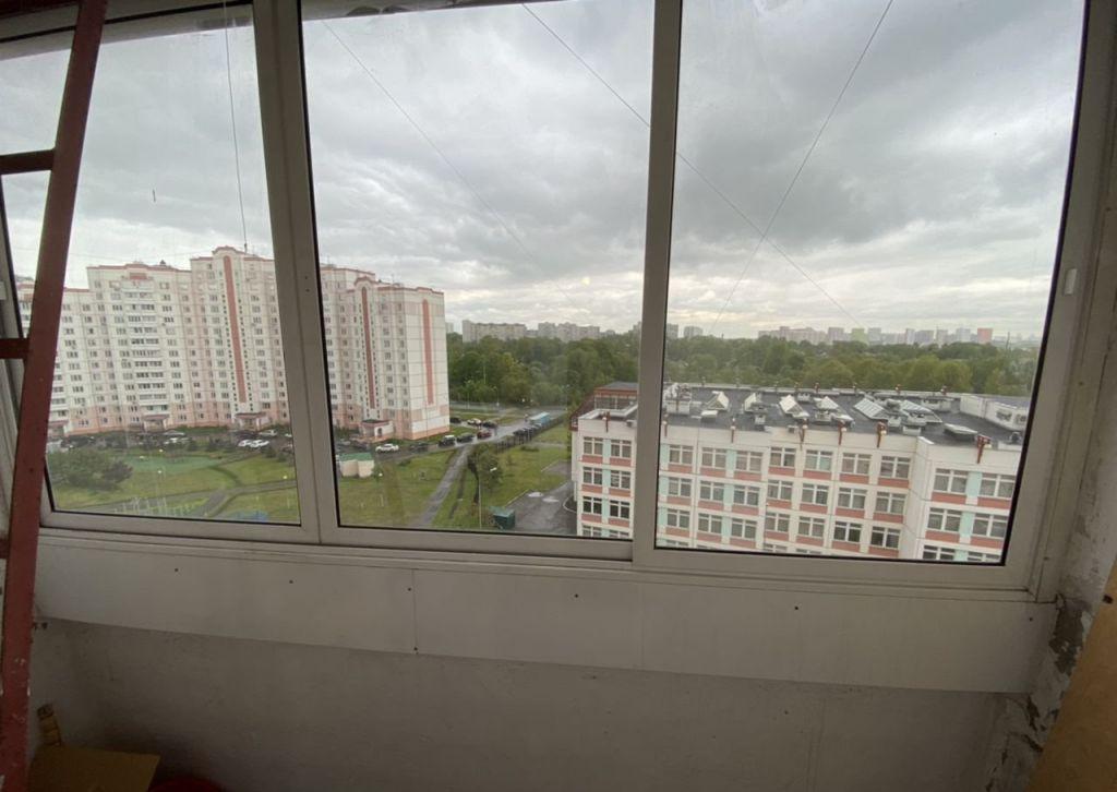 Продажа однокомнатной квартиры Москва, метро Улица Скобелевская, Изюмская улица 61к1, цена 6800000 рублей, 2020 год объявление №397306 на megabaz.ru